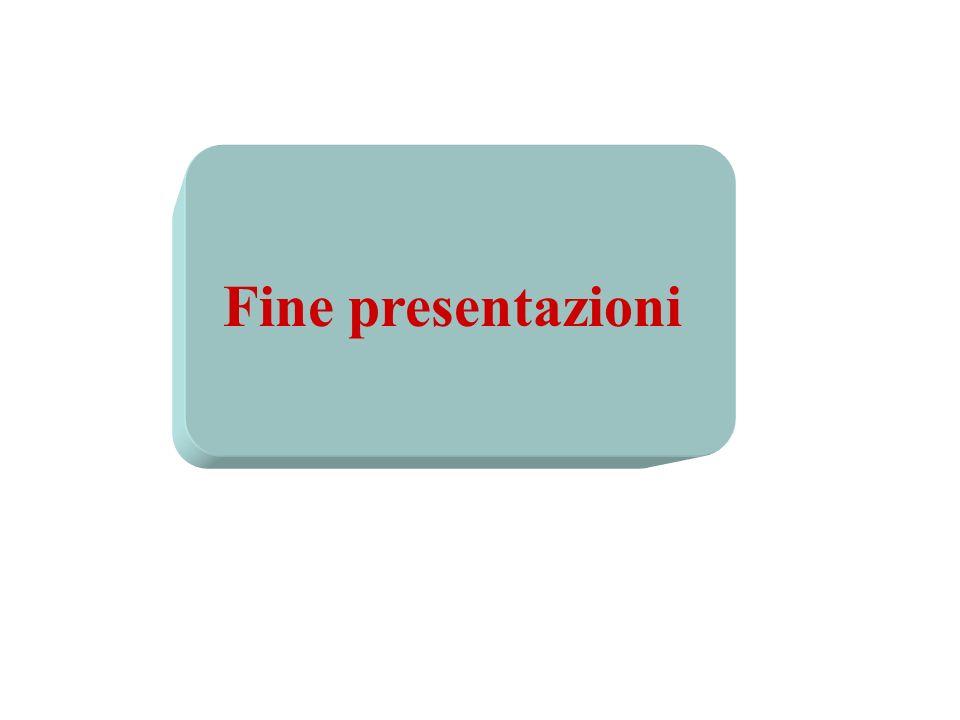 Fine presentazioni Slide 19