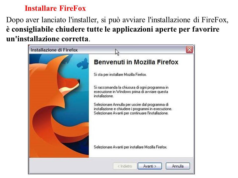 Installare FireFox