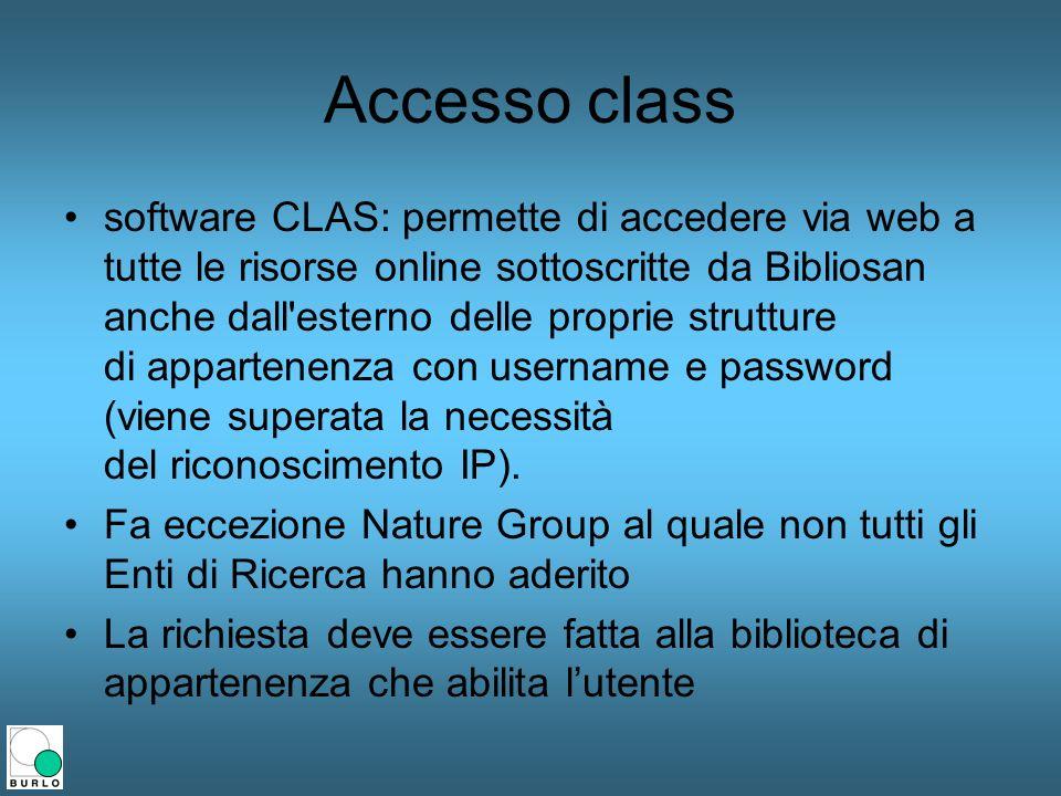 Accesso class