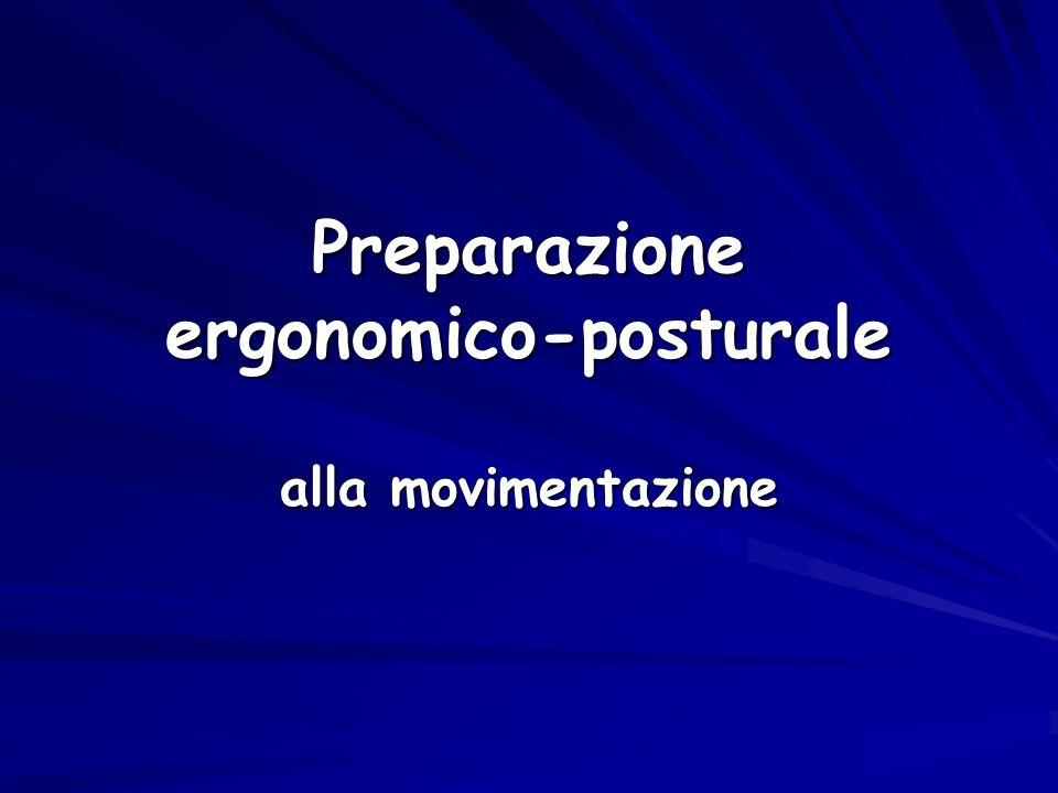 Preparazione ergonomico-posturale