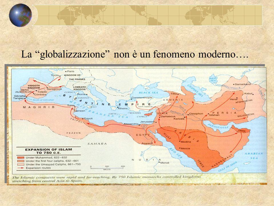 La globalizzazione non è un fenomeno moderno….
