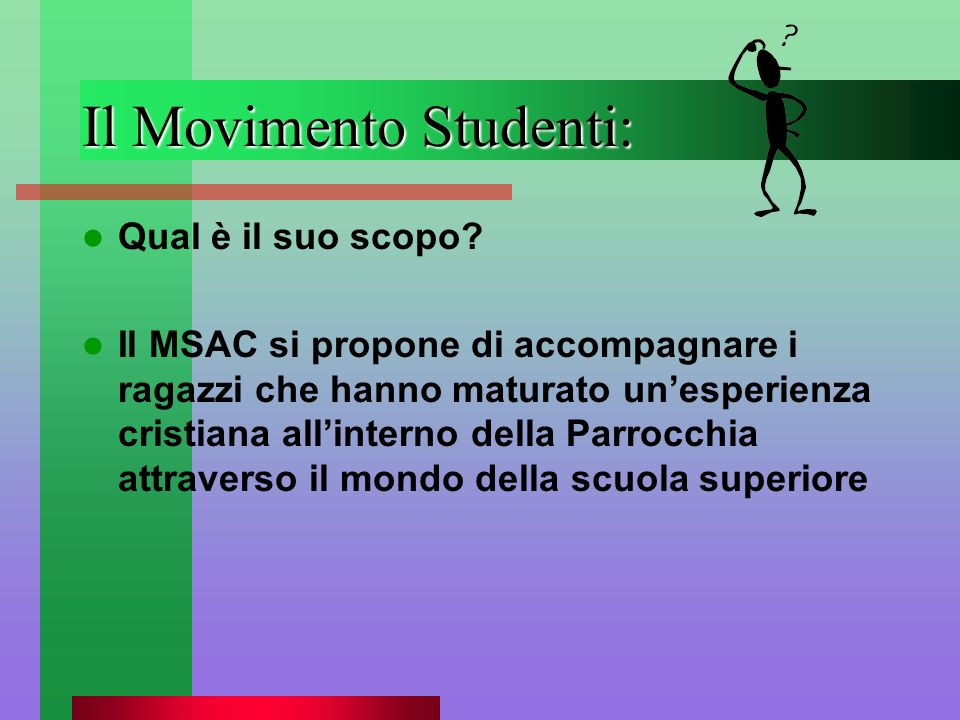 Il Movimento Studenti: