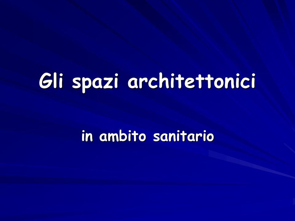 Gli spazi architettonici