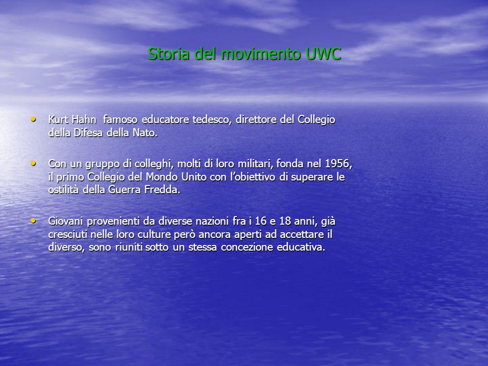 Storia del movimento UWC