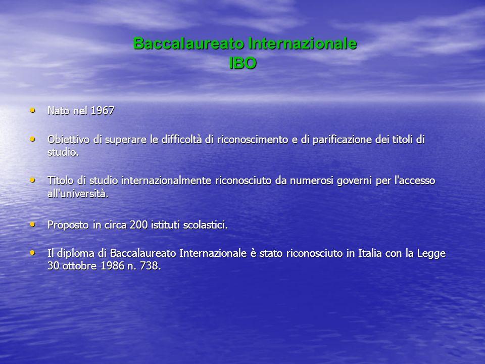 Baccalaureato Internazionale IBO