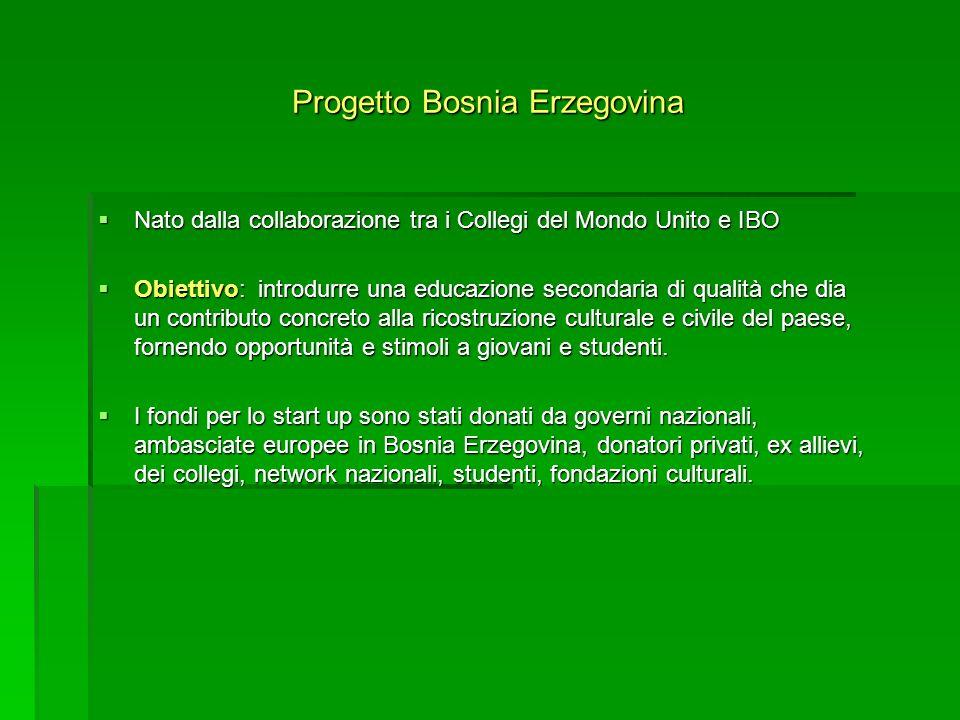 Progetto Bosnia Erzegovina