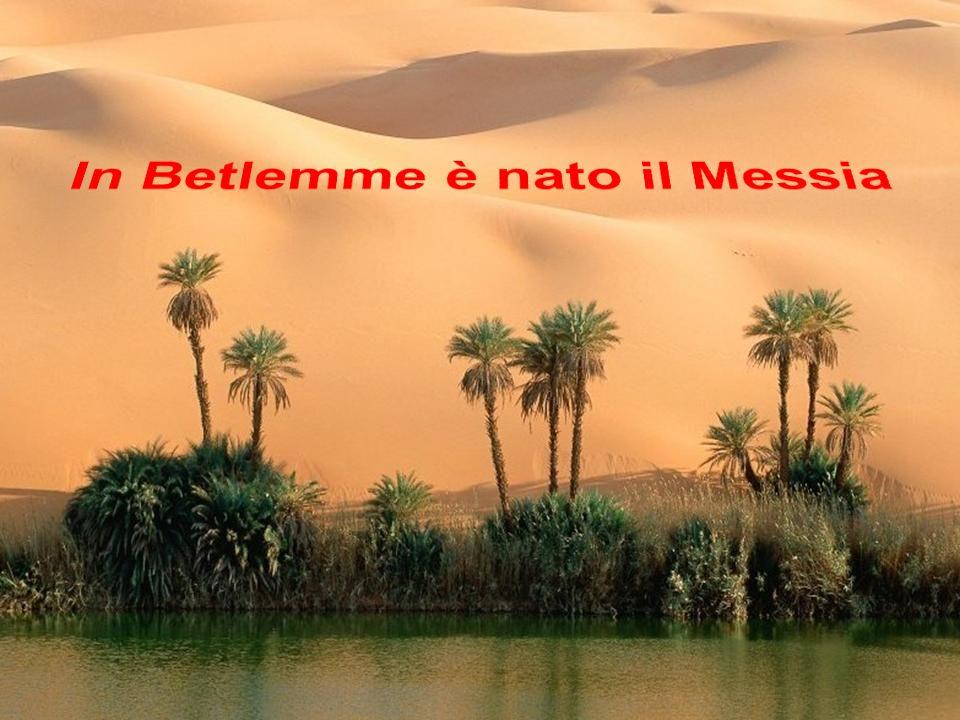 In Betlemme è nato il Messia