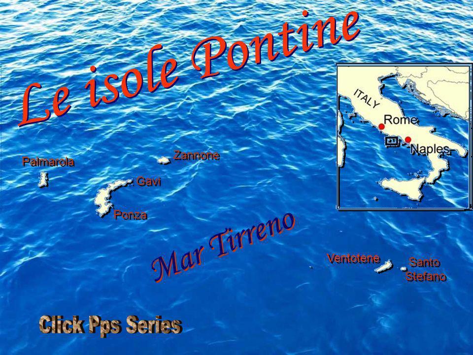 Le isole Pontine Mar Tirreno Click Pps Series Zannone Palmarola Gavi