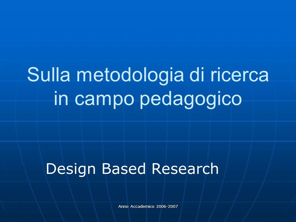 Sulla metodologia di ricerca in campo pedagogico