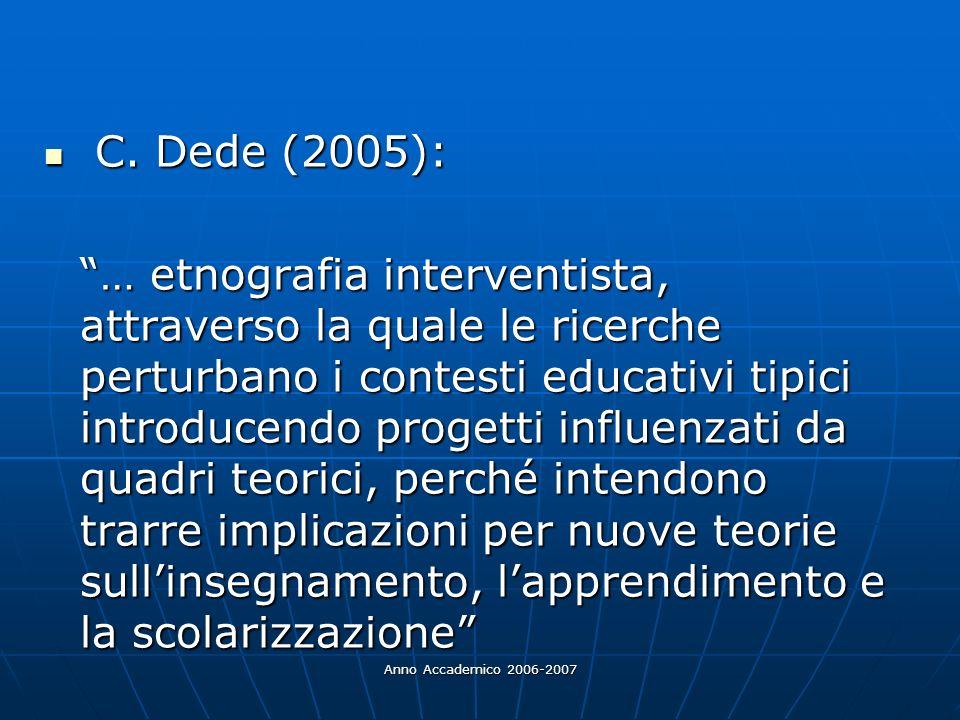 C. Dede (2005):