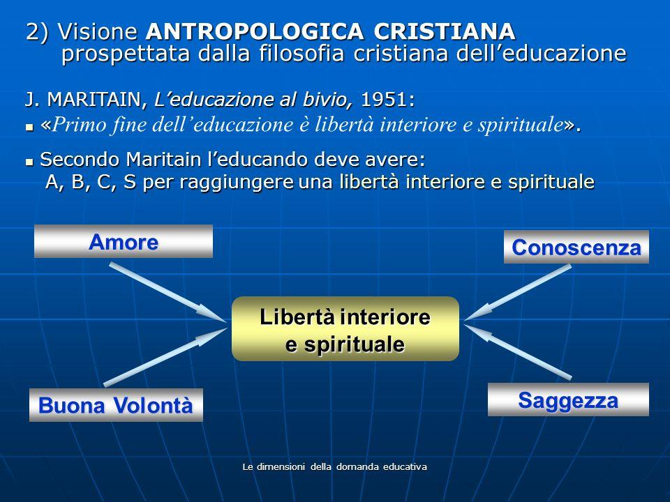 Libertà interiore e spirituale