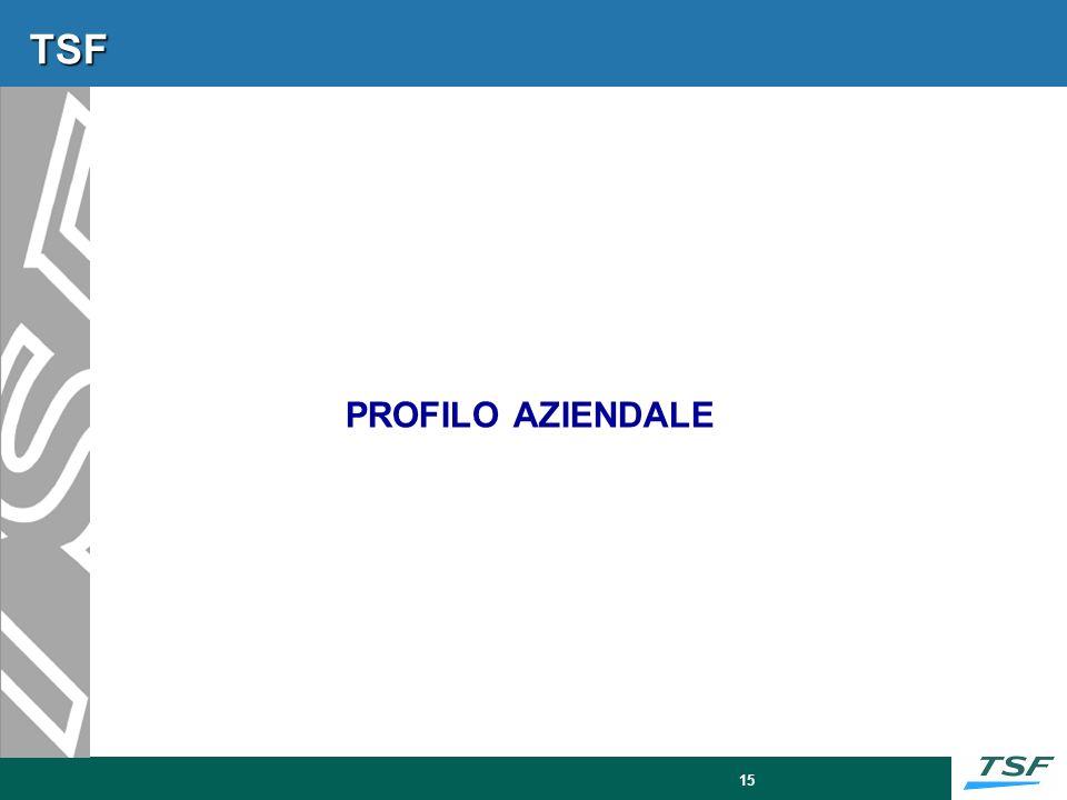 TSF – L'Azienda