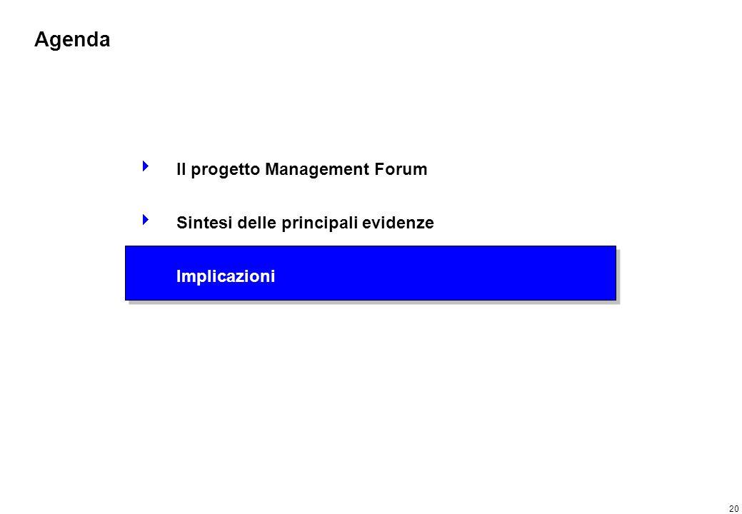 Implicazioni per le politiche formative