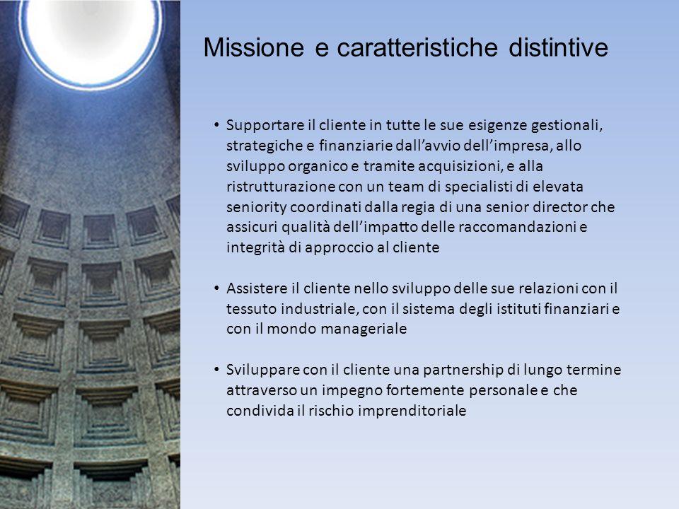 Missione e caratteristiche distintive