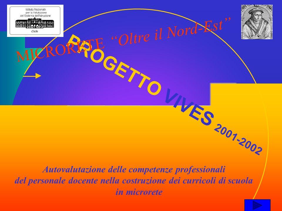 PROGETTO VIVES 2001-2002 MICRORETE Oltre il Nord-Est