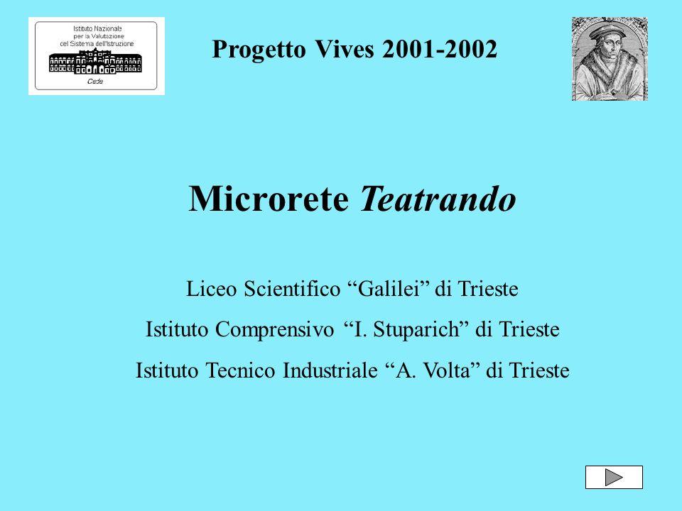 Microrete Teatrando Progetto Vives 2001-2002