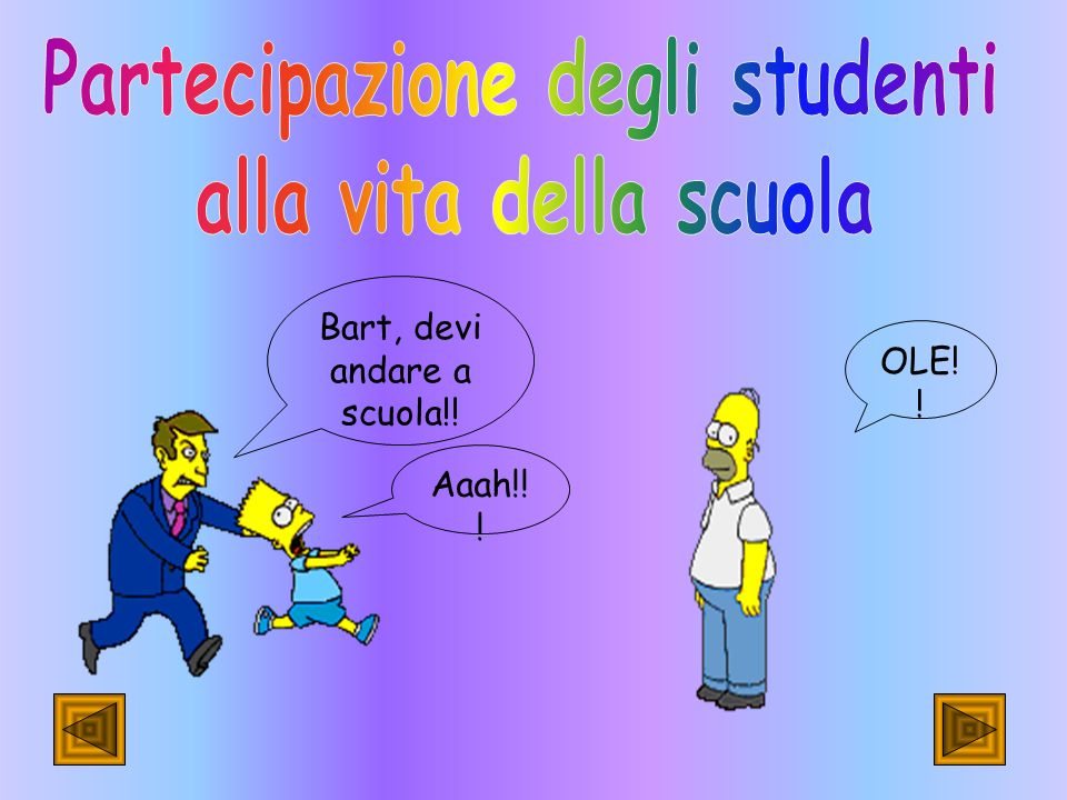 Partecipazione degli studenti