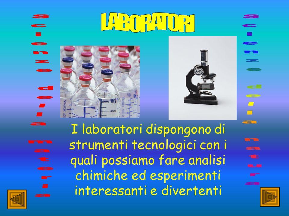 LABORATORI Scienze della materia Scienze della natura