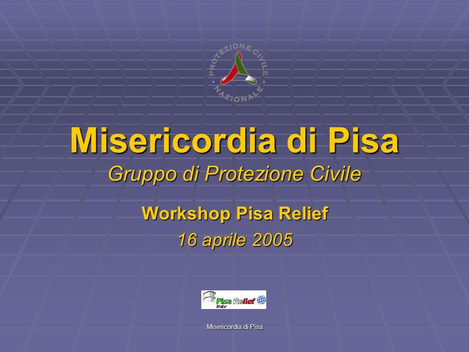 Misericordia di Pisa Gruppo di Protezione Civile