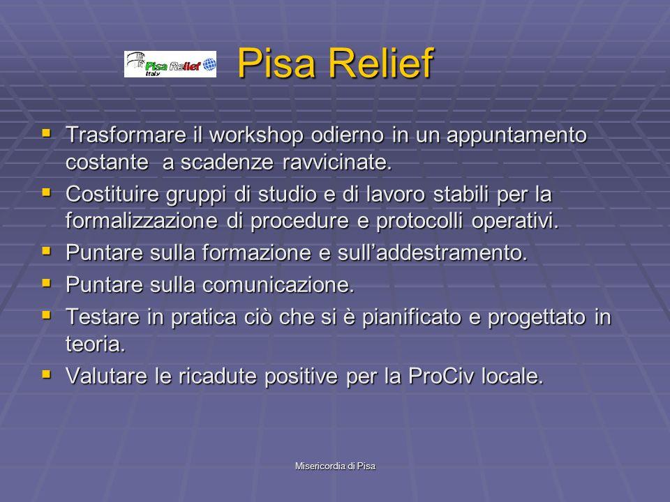 Pisa Relief Trasformare il workshop odierno in un appuntamento costante a scadenze ravvicinate.
