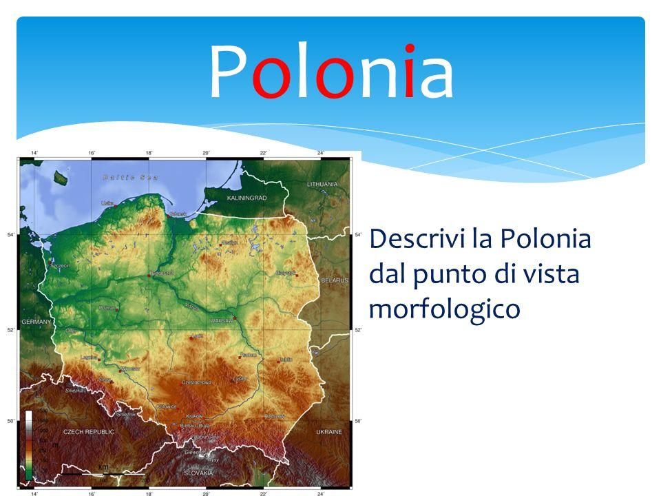 Polonia Descrivi la Polonia dal punto di vista morfologico