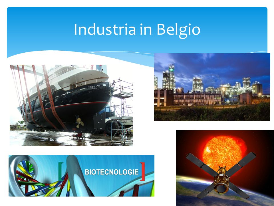 Industria in Belgio