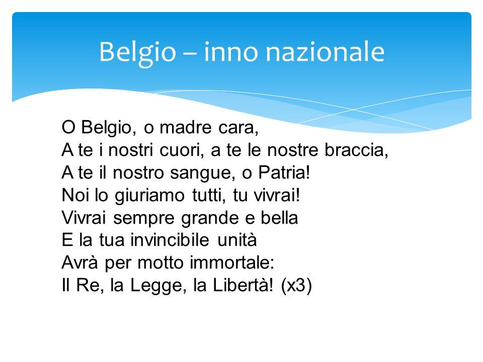 Belgio – inno nazionale
