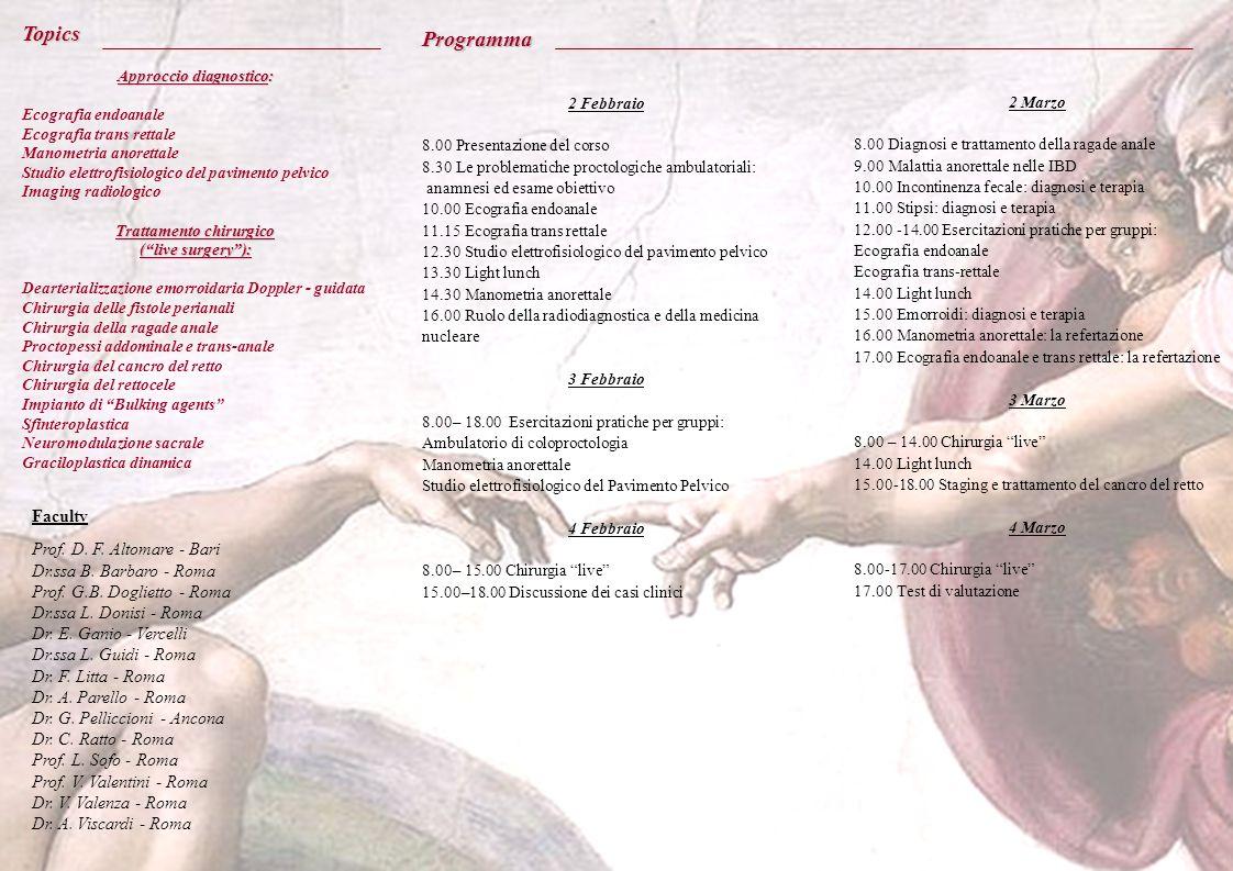 Approccio diagnostico: Trattamento chirurgico