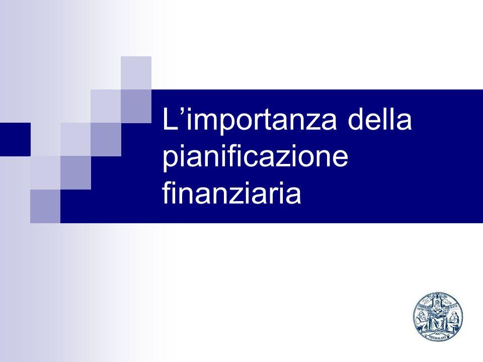 L'importanza della pianificazione finanziaria