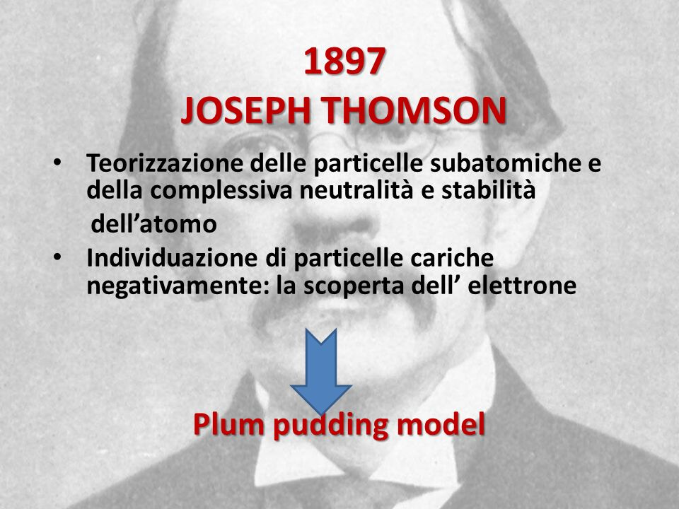 1897 JOSEPH THOMSON Plum pudding model
