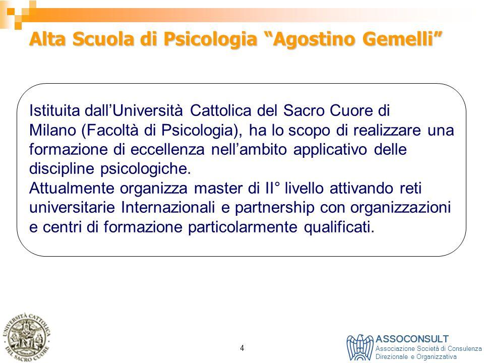 Alta Scuola di Psicologia Agostino Gemelli