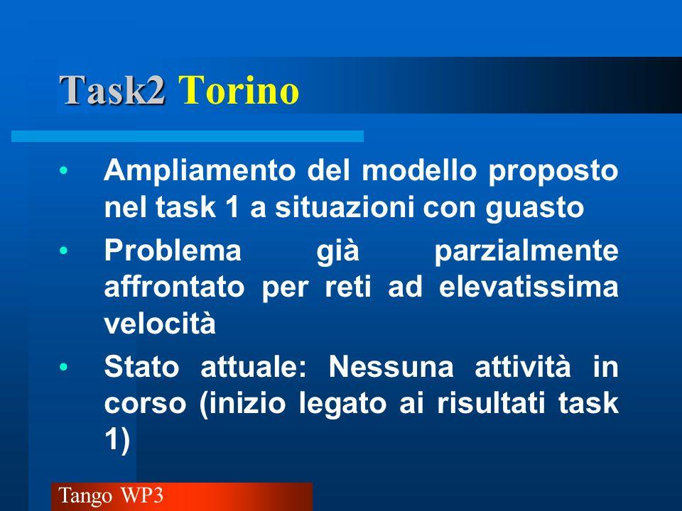 Task2 Torino Ampliamento del modello proposto nel task 1 a situazioni con guasto.