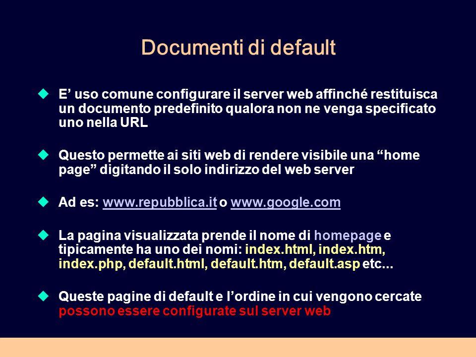 Documenti di default