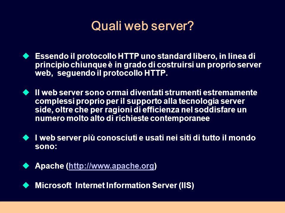 Quali web server
