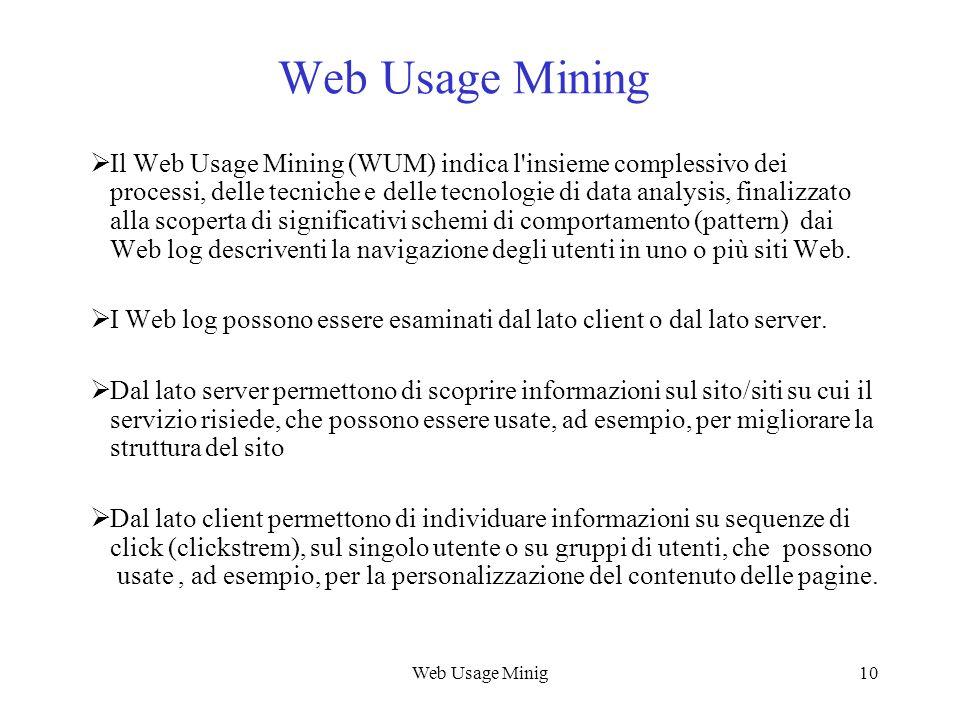 Web Usage Mining Web Usage Mining.