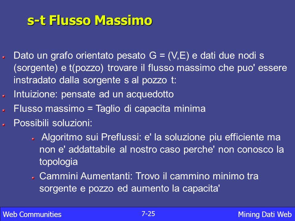 s-t Flusso Massimo