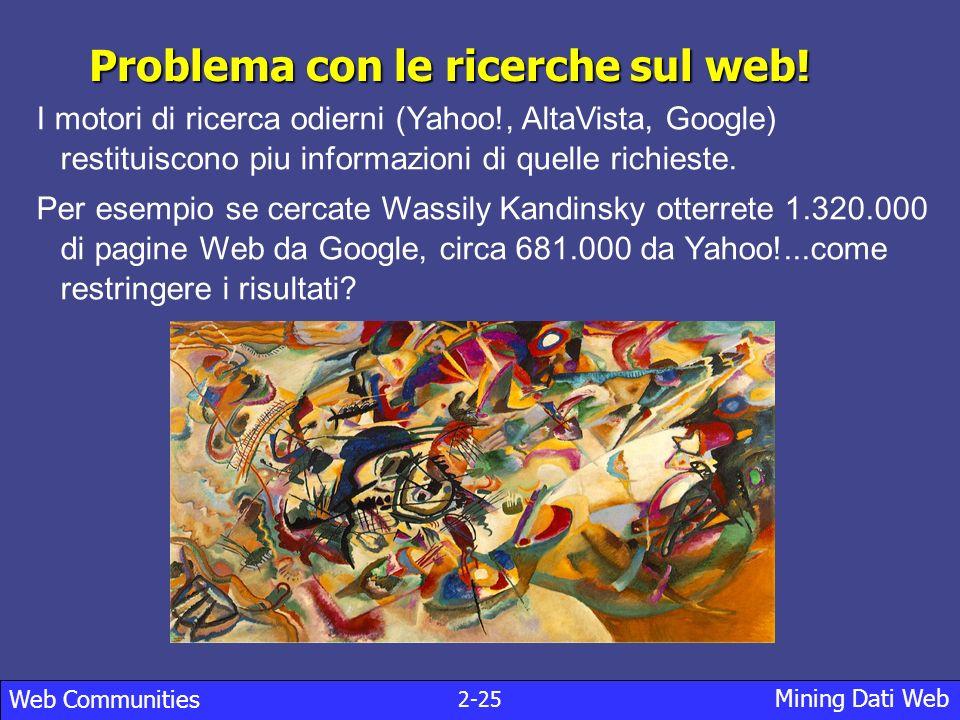 Problema con le ricerche sul web!