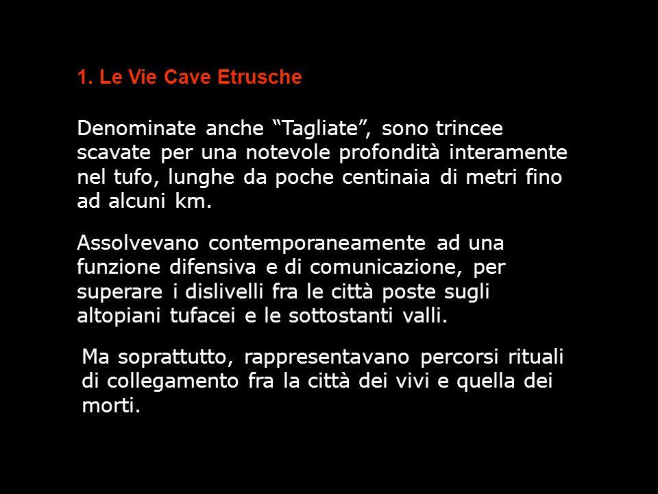 1. Le Vie Cave Etrusche