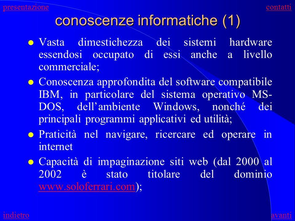 conoscenze informatiche (1)