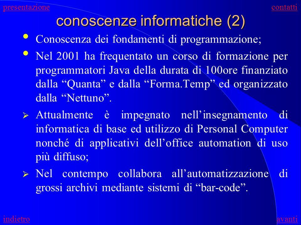 conoscenze informatiche (2)