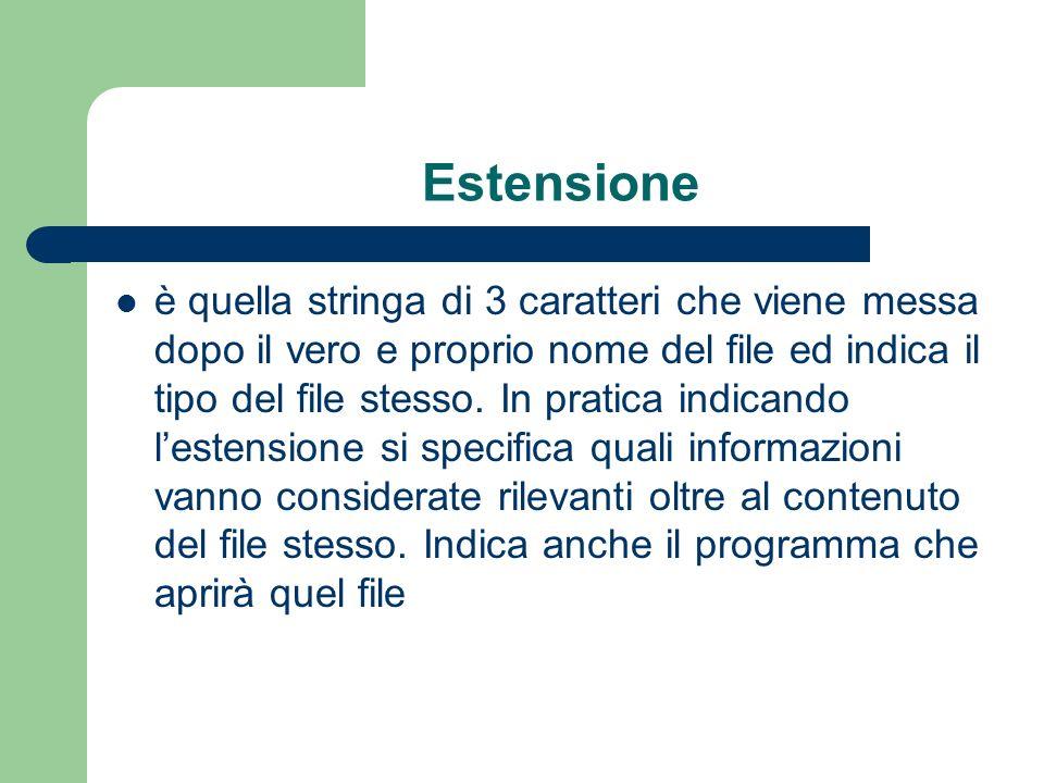 Estensione