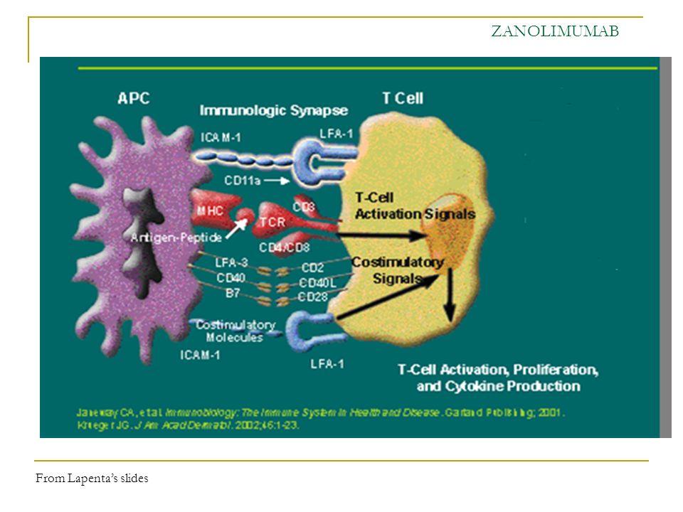 ZANOLIMUMAB From Lapenta's slides