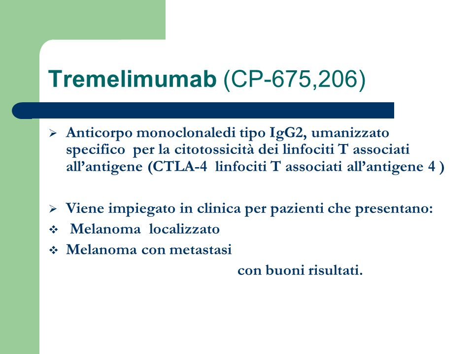 Tremelimumab (CP-675,206)