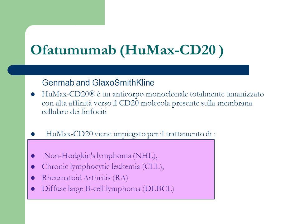 Ofatumumab (HuMax-CD20 )