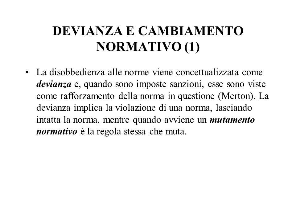 DEVIANZA E CAMBIAMENTO NORMATIVO (1)