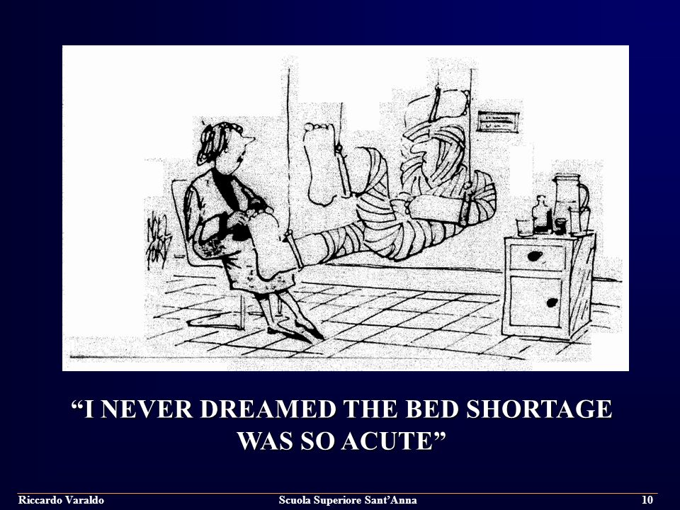 I NEVER DREAMED THE BED SHORTAGE