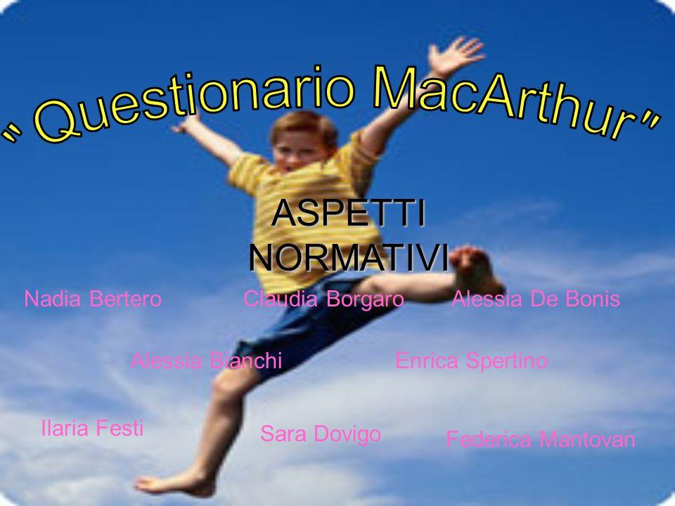 Questionario MacArthur