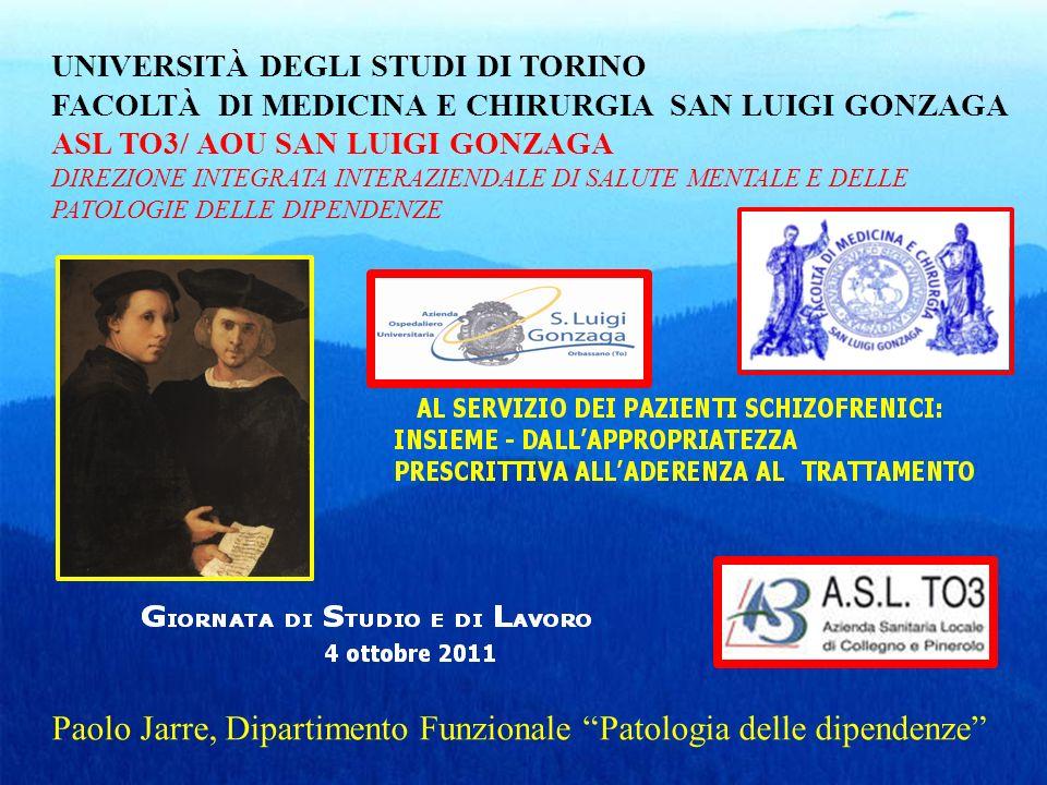 Paolo Jarre, Dipartimento Funzionale Patologia delle dipendenze