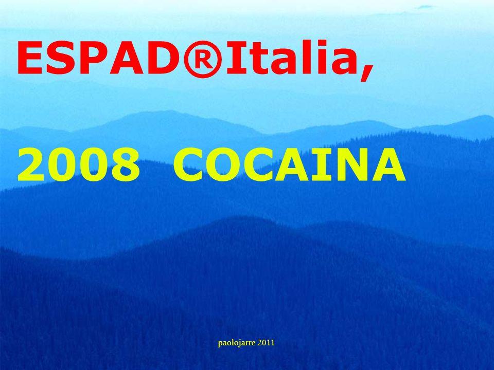 ESPAD®Italia, 2008 COCAINA paolojarre 2011 28