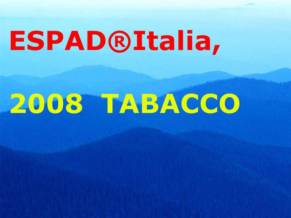 ESPAD®Italia, 2008 TABACCO 53
